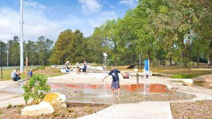 Steel Park and Waterplay Park Illawarra Rd, Marrickville