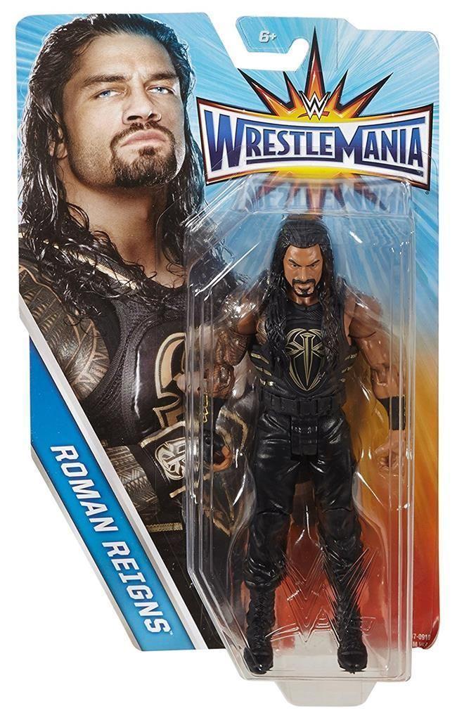 ROMAN REIGNS WWE Mattel 2017 Wrestlemania 32 Action Figure Toy - Mint Packaging - http://bestsellerlist.co.uk/roman-reigns-wwe-mattel-2017-wrestlemania-32-action-figure-toy-mint-packaging/