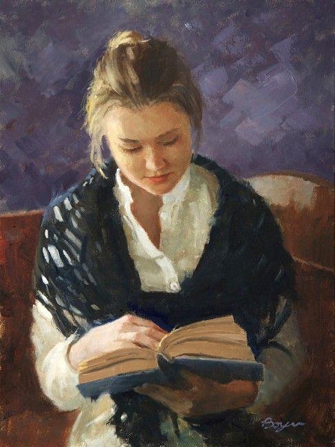 Felicia reading by Richard Boyer