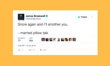 13 Tweets That Perfectly Describe Struggle Of Sleeping With A Snorer | The Huffington Post