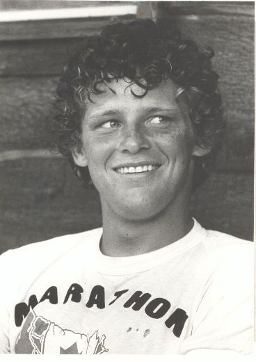 Terry Fox began an annual fundraising tradition in 1980 with his Marathon of Hope. Description from hintonparklander.com. I searched for this on bing.com/images