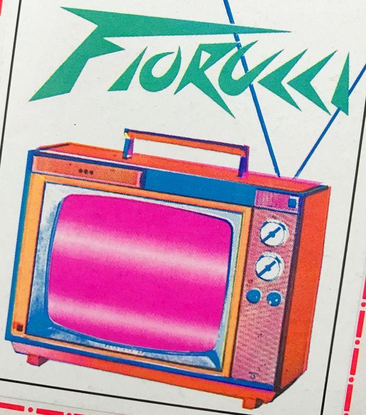 The Fiorucci Panini sticker book