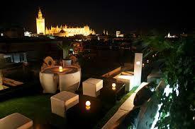La Terraza, Hotel Inglaterra, Sevilla