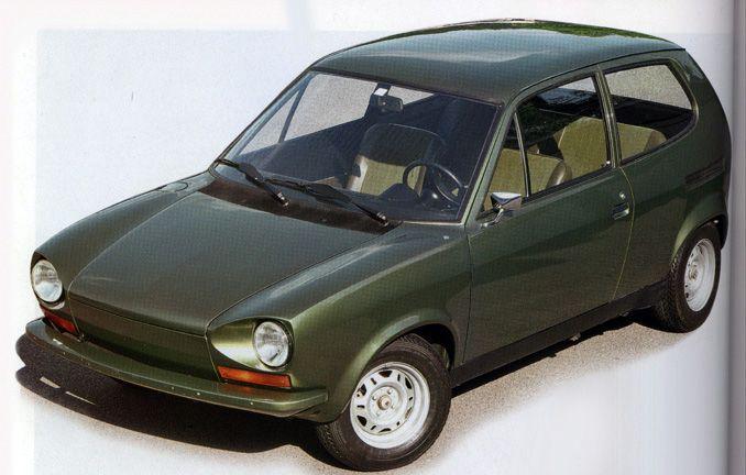 OG   1969 Volkswagen / VW EA266   Prototype