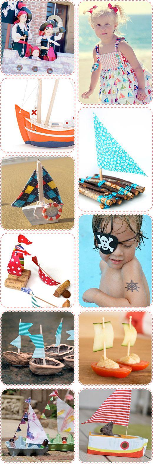 Handmade and DIY Boats!