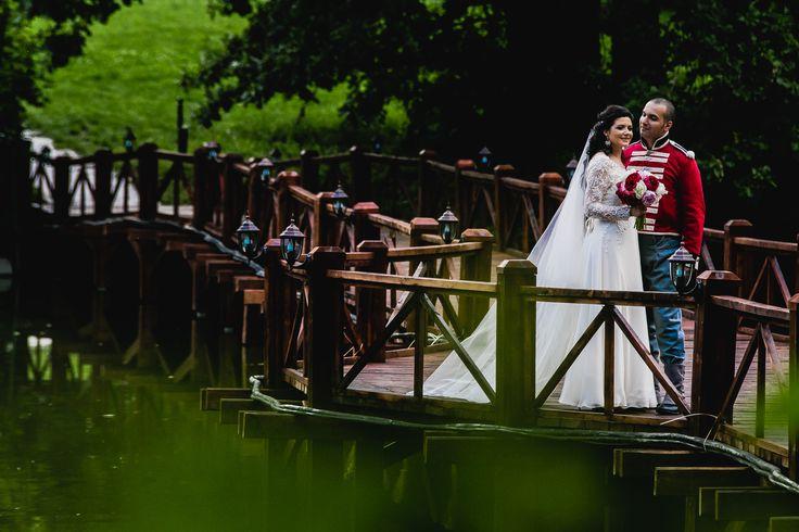 When a princess meets her prince: Ioana & Karim outdoor  wedding photography by Alexandru Grigore