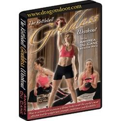 The Kettlebell Goddess with Andrea DuCane is a fantastic DVD with several workouts. If you can look past the boring presentation, Andrea's a great instructor and really knows her stuff.