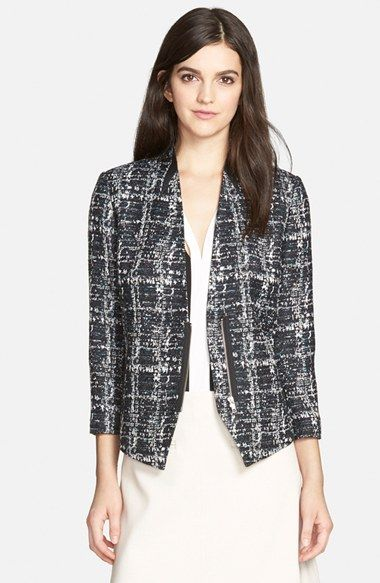 Trouvé Novelty Texture Blazer available at #Nordstrom