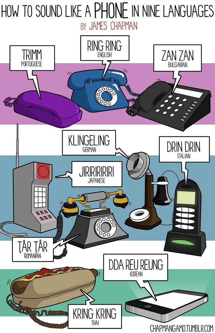How to Sound Like a Phone in Other Languages