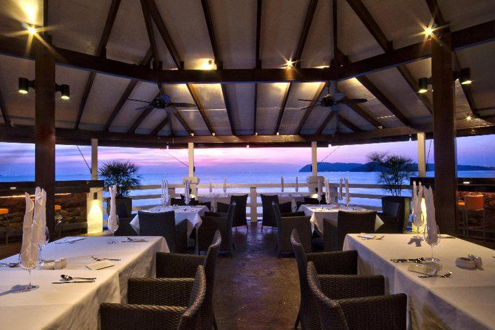 The Cliff Langkawi Restaurant & Bar located at the end of Pantai Cenang, Langkawi. The Cliff is the island's newest dining and drinking spot.