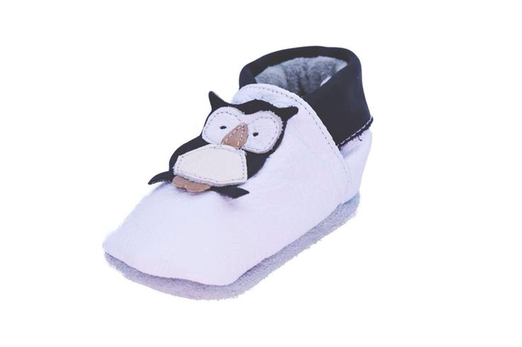 Our snow owl soft sole genuine leather shoe.