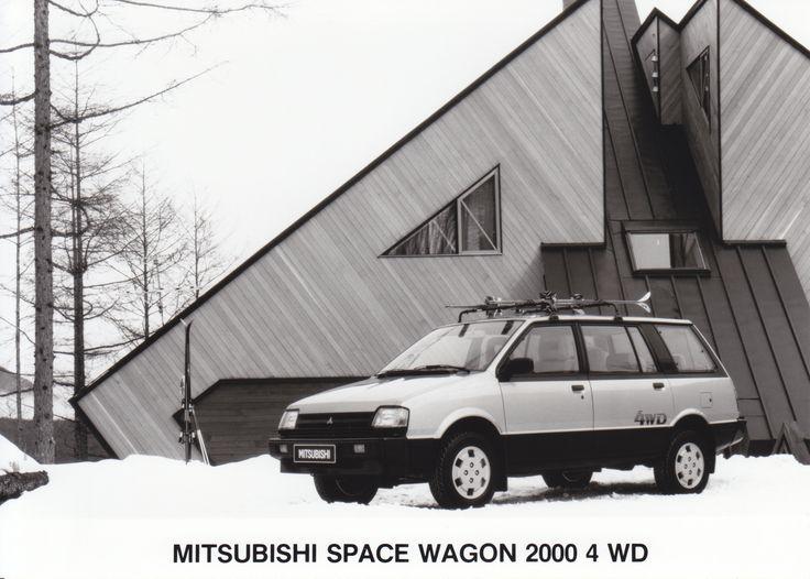 Mitsubishi Space Wagon 2000 4WD (Salon, Brussel, 1-1986)