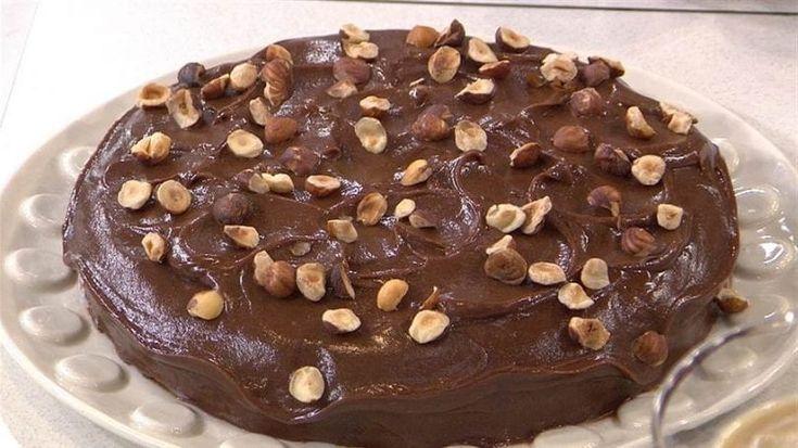 Υπέροχο κέικ σοκολάτας ΧΩΡΙΣ ΓΛΟΥΤΕΝΗ, με Nutella και λικέρ! |