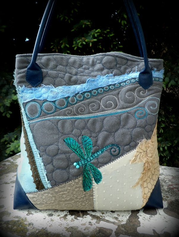 ZerVir bag with dragonfly