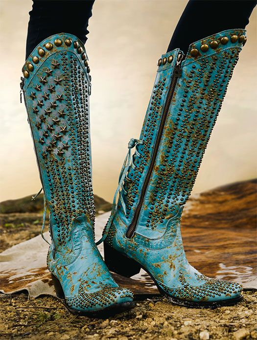 "double-d-ranch: ""Stars and Stripes Boots - http://ddranchwearwomens.com/apparel-collection/boots/stars-stripes-boot.html"
