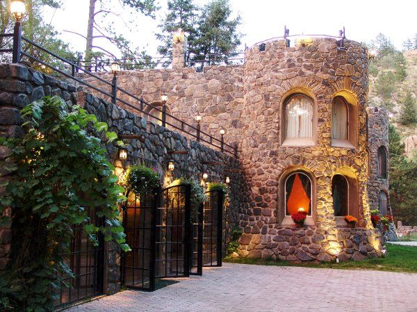 the dunafon castle photos ceremony reception venue pictures colorado denver colorado
