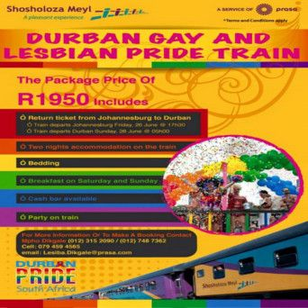 Durban Gay Pride Train