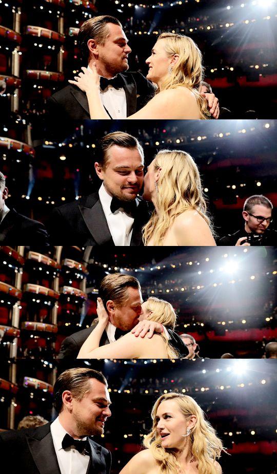 Leonardo DiCaprio and Kate Winslet, OCRARS 2016