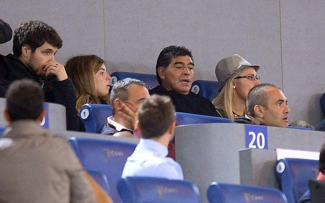 """Maradona: """"Non è che il Napoli ha perso: non c'era proprio"""" #maradona #cannavaro #seriea"""