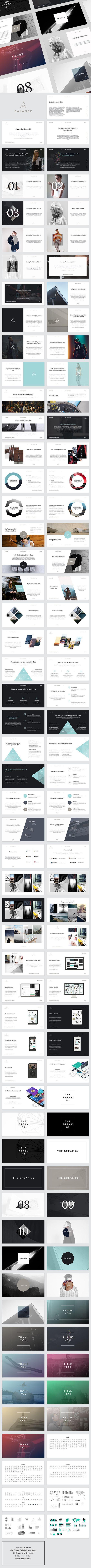 BALANCE PowerPoint Presentation Template #design #slides Download: http://graphicriver.net/item/balance-powerpoint-presentation/14417275?ref=ksioks: