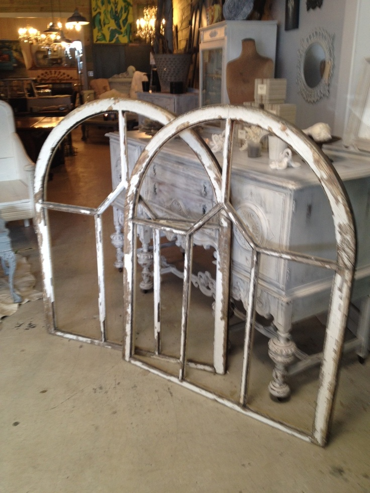 Antique Church Window Frames At CHARTREUSE I Love Architectural Pieces They