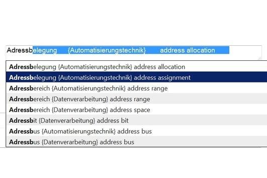 Adressbereich {Automatisierungstechnik} address range    Adressbus {Automatisierungstechnik} address bus