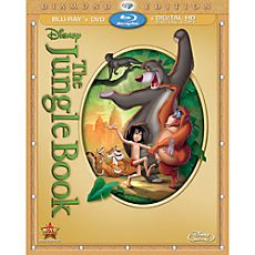 The Jungle Book Blu-ray Diamond Edition