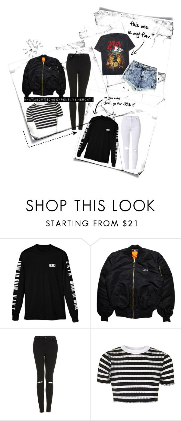 """""""let's get some merch """" by mariammab ❤ liked on Polyvore featuring Post-It, Topshop, Old Navy, country, zayn, merch and Zquad"""