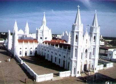 Best Hotels In Velankanni :- Choose To Stay: Velankanni Church