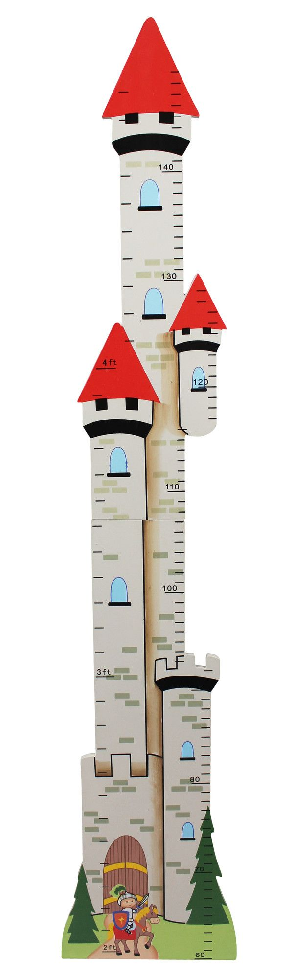 Knights & Dragons Growth Chart | Wayfair