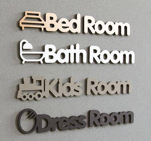 wooden door sign/custom modern door sign/Scandinavian door sign/welcome bedroom bathroom kids office Laundry door sign/wood door sign/custom by BeautyOfPrints on Etsy