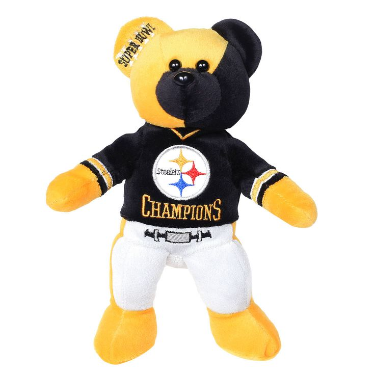 Pittsburgh Steelers Super Bowl XIII Champions Thematic Bear - $13.59