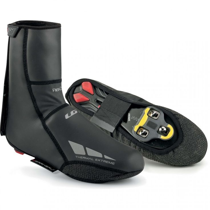 THERMAL EXTREME CYCLING SHOE COVERS  The Thermal Extreme shoe covers will keep your feet warm and dry in any condition, thanks to their 3 mm SBR neoprene with water-resistant polyurethane laminated with fleece and sealed seams.