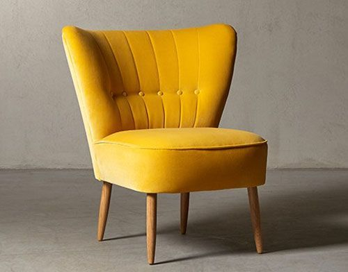 M s de 25 ideas incre bles sobre yellow armchair en for Sillas comedor amarillas
