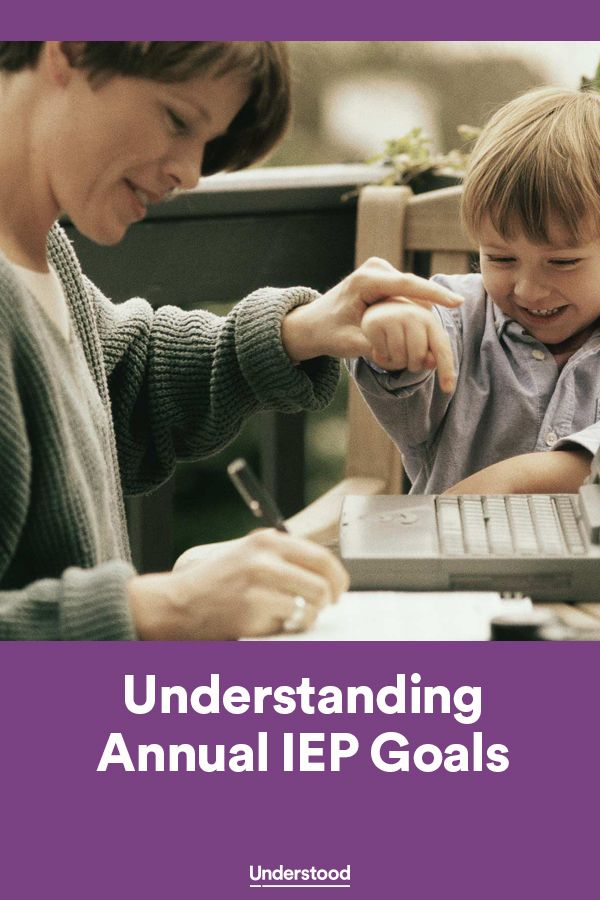 A guide to creating SMART (Specific, Measurable, Attainable, Results-oriented and Time-bound) goals for your child's IEP