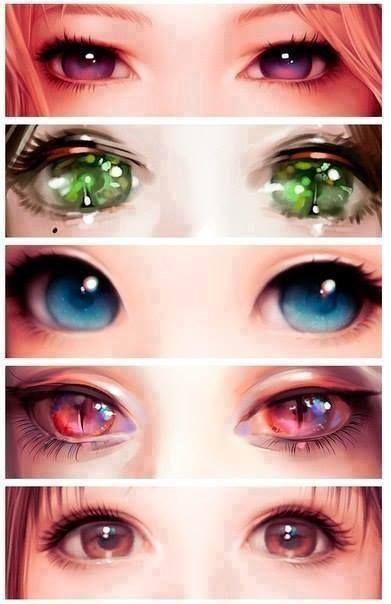 Pretty eyes * _ *