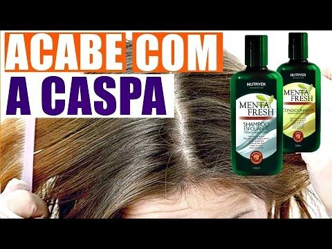 Shampoo e Condicionador Esfoliante - Kit Menta Fresh!