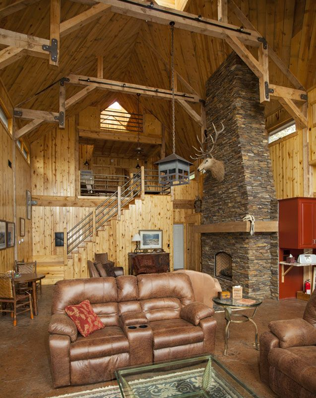 1000 images about barn homes on pinterest yankee barn for Interior pictures of post and beam homes