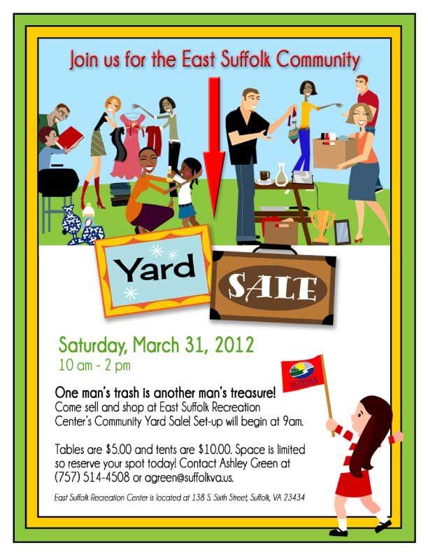 Yard Sale Flyer Printables Lexutk
