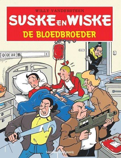 Suske en Wiske - De bloedbroeder (VL - Rode Kruis) - suskeenwiskeshop.com