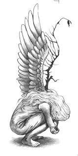 Risultati immagini per tatuaggi angeli