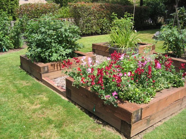 1000 ideas about raised garden planters on