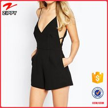 Black Fashion Chiffon One Piece Women Jumpsuit Best Seller follow this link http://shopingayo.space