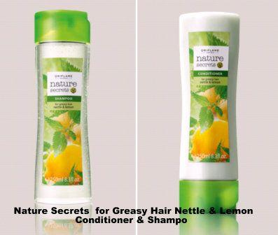Shampo untuk membersihkan rambut secara menyeluruh dengan ekstrak Nettle dan Lemon Oil yang mengurangi kelebihan minyak, menjaikan rambut tampak berkilau dan melembutkan kutikula rambut. Dengan wangi yang menyegarkan. 250 ml.  Kondisioner dengan ekstrak Nettle menyegarkan dan Lemon Oil yang membersihkan untuk menjaga kelembutan dan kilau rambut. Mencegah kusut, menyegarkan dan memberikan vitalitas pada rambut. 250 ml.