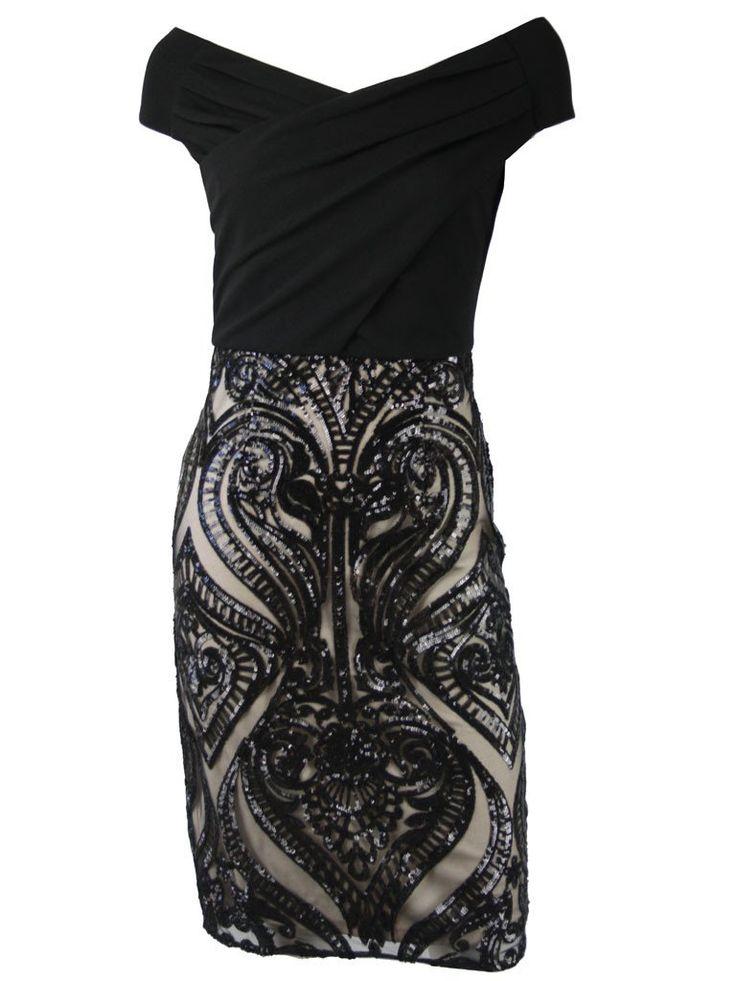 Zena Off Shoulder Evening Dress