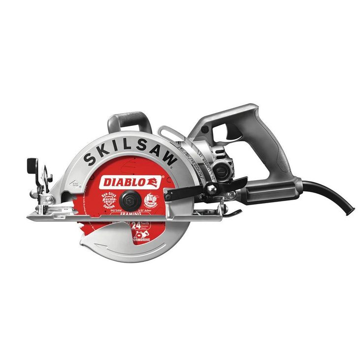 SKILSAW 15 Amp 7-1/4 in. Worm Drive with Diablo Blade-SPT77W-22 - The Home Depot/////////$169.00