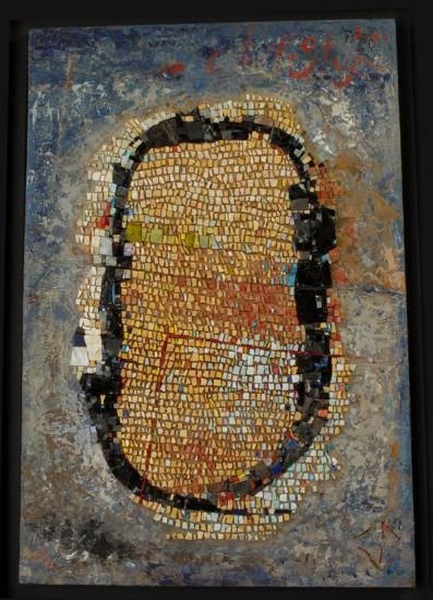 422 best images about mosaic on pinterest direct method for Peinture mosaique