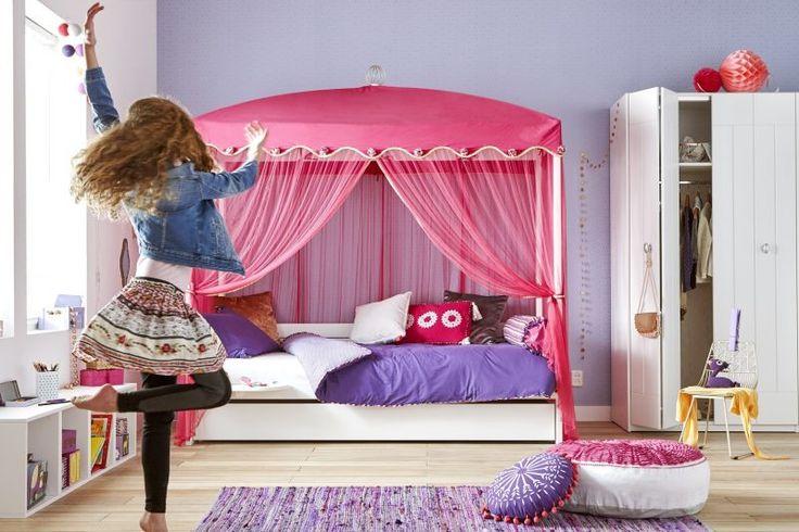 Die besten 17 ideen zu himmelbett vorhang auf pinterest - Baldachin fur kinderzimmer ...
