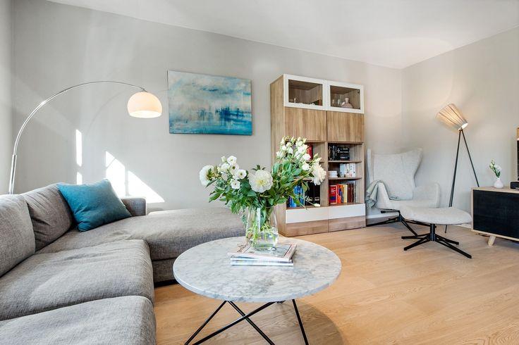 FINN – Kalfaret - Moderne og eksklusiv 2-roms leilighet i populære Hansaparken. Heis i bygget, garasje, IN-ordning og privat balkong