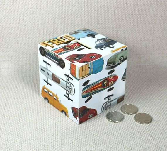 Hey, I found this really awesome Etsy listing at https://www.etsy.com/uk/listing/465229395/personalised-cars-money-box-gift-for
